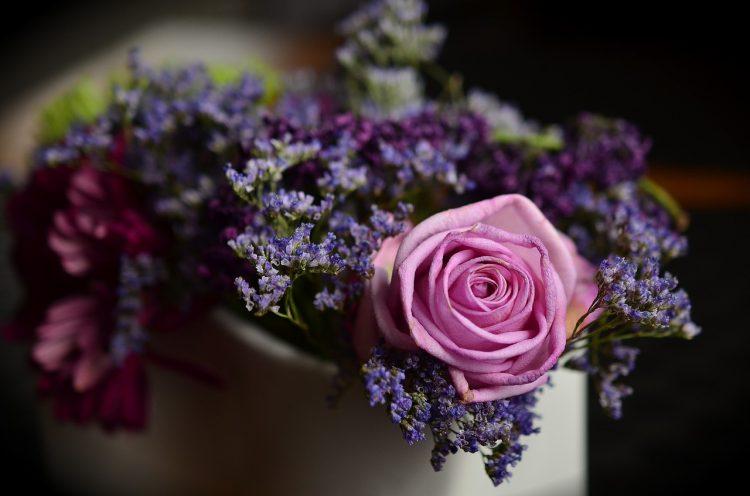 bouquet de rose pour la décoration