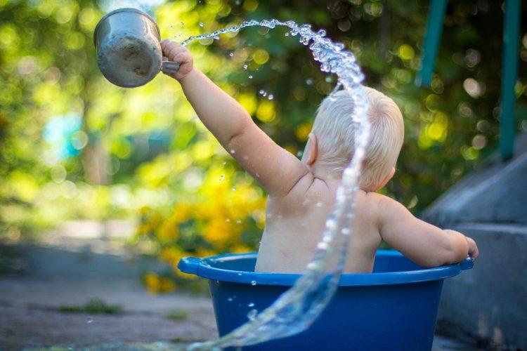 Astuces pour le bain de bébé