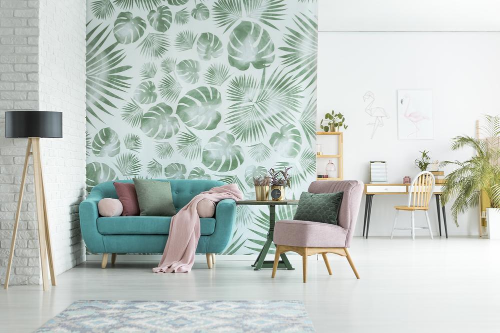 Le papier peint scandinave pour une ambiance cocooning