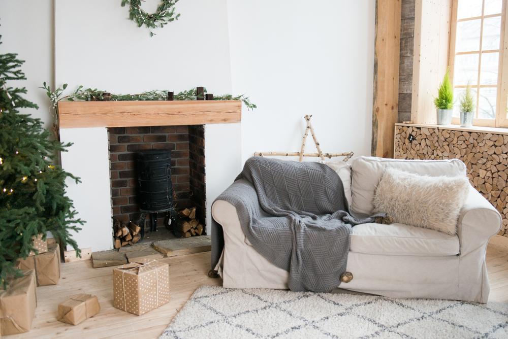 Une décoration scandinave pour les fêtes de Noël